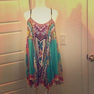 Aztec Style Mini Dress
